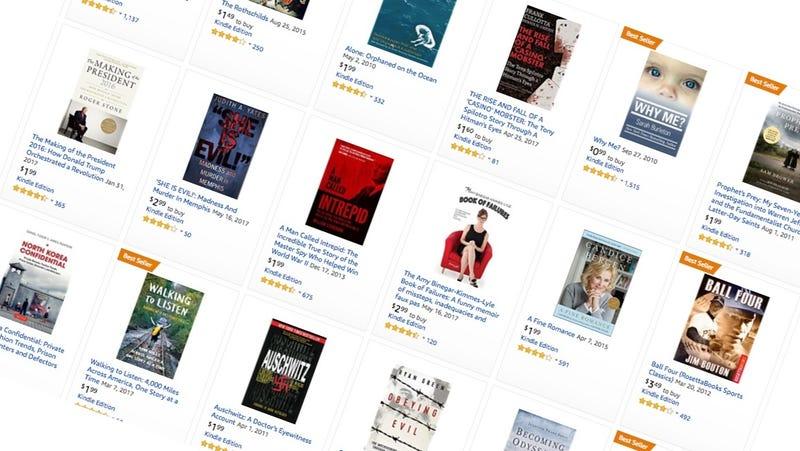 Biography & Memoir Kindle Sale