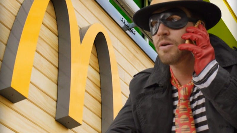 Illustration for article titled McDonald's new Hamburglar commercial asks if you can pay child support in burgers