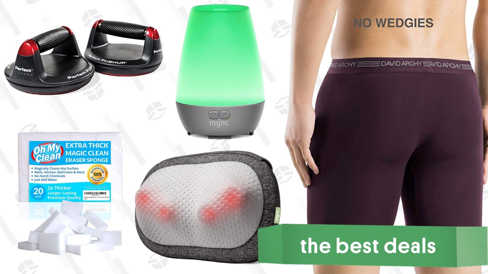 Friday's Best Deals: 20% Off Amazon Warehouse, Foam Mattresses, Bamboo Underwear, and More