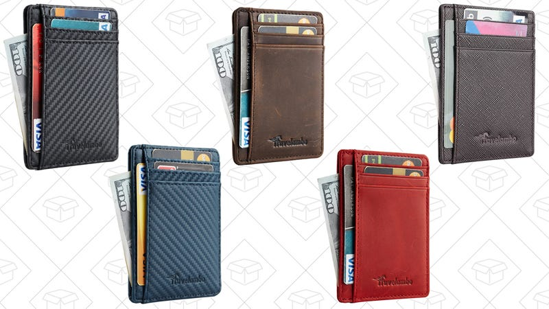 Travelambo Front Pocket Wallets, $10-$14