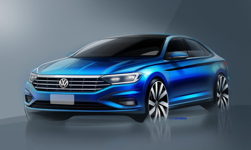 Illustration for article titled The 2019 Volkswagen Jetta Aims To Be Relevant Again