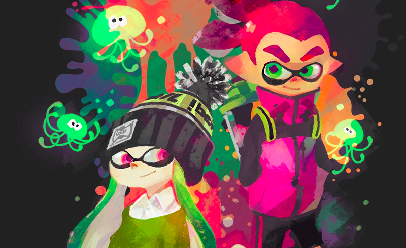 Illustration for article titled Splatoon Players Are Obsessed With Spongebob Squarepants