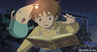 Illustration for article titled First Studio Ghibli/Level 5 Screens