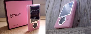 Illustration for article titled Pink Zune Looks Girly, But in a Good Way