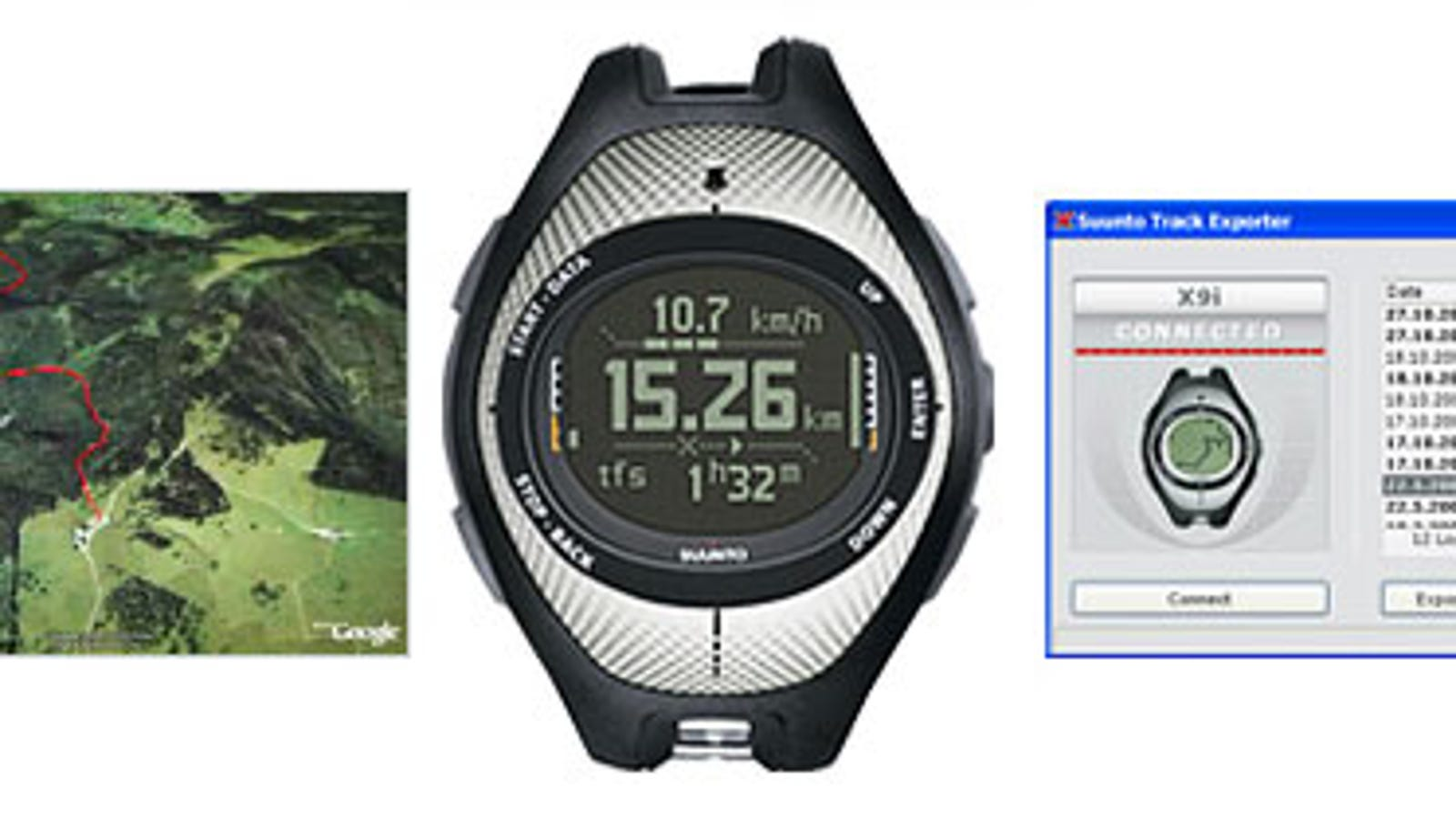 GPS Coolness: Downloading Suunto and Garmin Forerunner Data