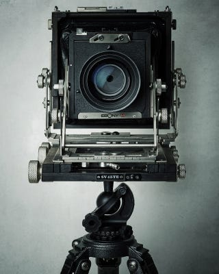 Illustration for article titled I Could Stare All Day at These Beautiful Studio Portraits of Cameras
