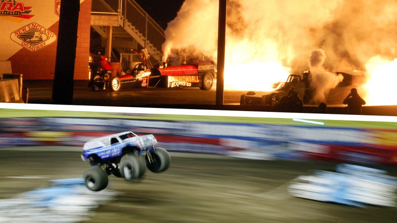 Illustration for article titled Why Monster Trucks And Jet Cars Are Awesome