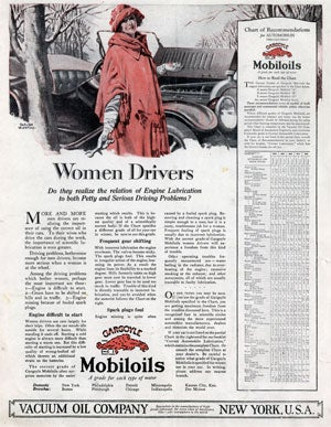 Illustration for article titled Women Drivers Don't Know How To Shift Gears, Start Cars, Or For That Matter, Dress Themselves