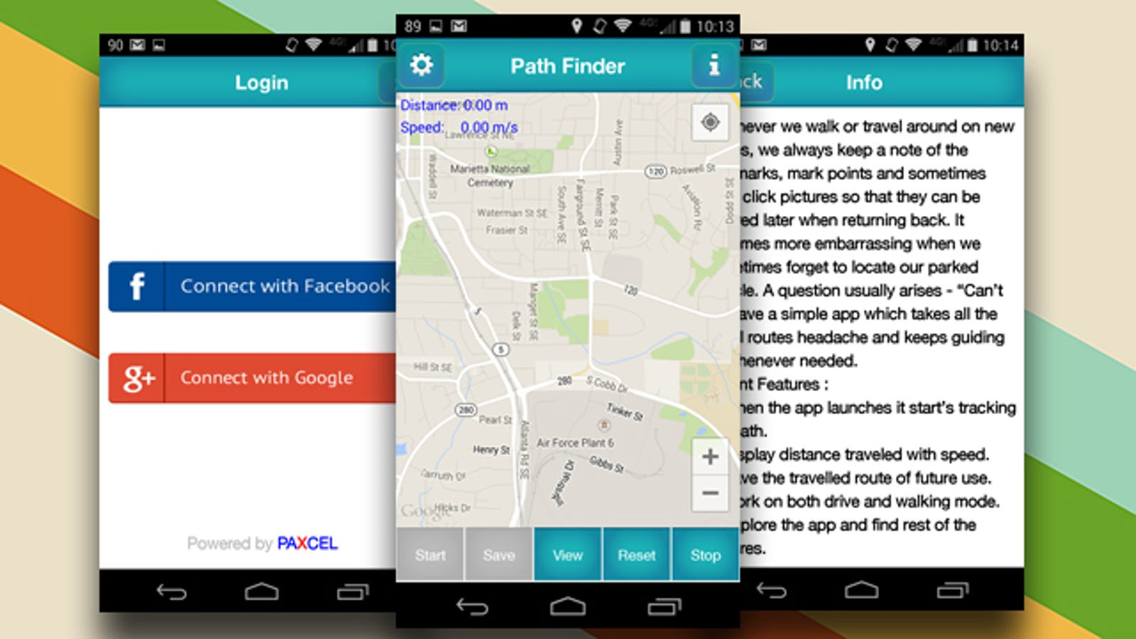 Path Finder Helps You Find Your Way Back When You Go Somewhere New