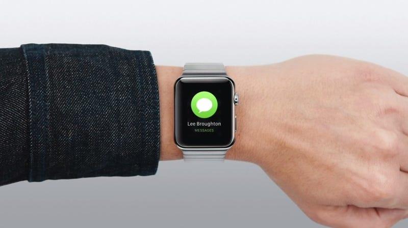Illustration for article titled Nuevos vídeos del Apple Watch muestran todas sus funciones en detalle