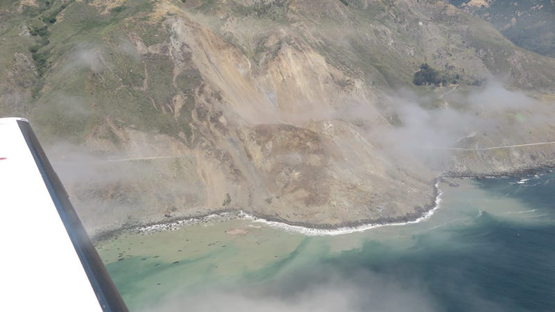 Massive Big Sur landslide could keep highway closed 1 year