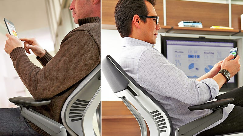 Illustration for article titled Steelcase Gesture: A Smartphone-Friendly Office Chair