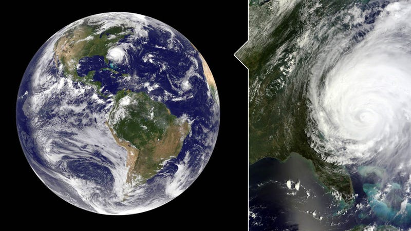 Illustration for article titled Awesome Full Image of Earth Gives You an Idea of How Huge Hurricane Irene Is (Updated)