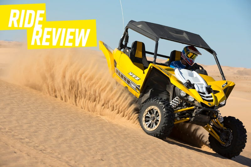 Illustration for article titled Ride Review: The Yamaha YXZ1000R Is The Dune-Conquering Speed Machine You Deserve