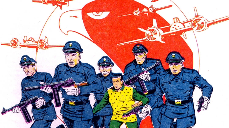 The Blackhawks, as seen in Who's Who: The Definitive Directory of the DC Universe #2.