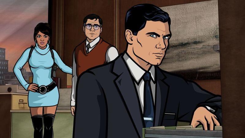 "Illustration for article titled Archer: ""Viscous Coupling"""