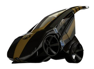Illustration for article titled BRB Evolution Super Car Concept Transforms, Folds To Fit Tight Spaces