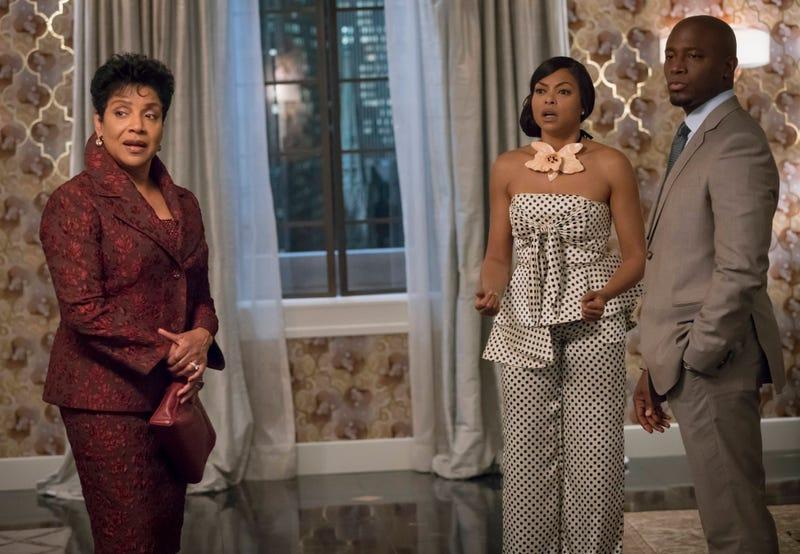 Phylicia Rashad, Taraji P. Henson and Taye Diggs in a scene from EmpireChuck Hodes/Fox
