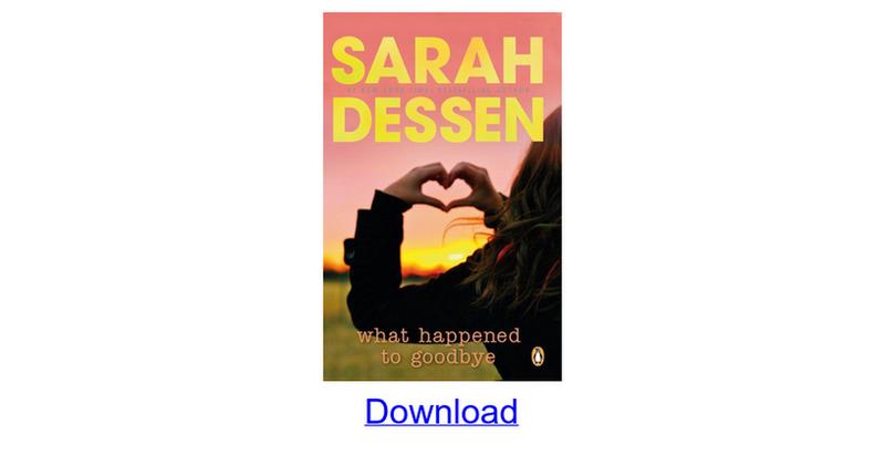Sarah Dessen Epub