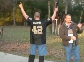 Illustration for article titled Guns, Booze, and Saints Fans: A Drama In One Act