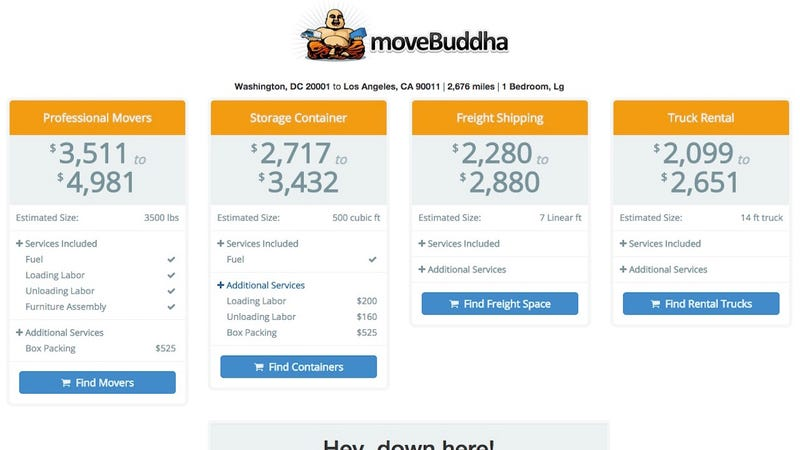 Illustration for article titled moveBuddha Compares Moving Costs, Offers a Personal Assistant to Help