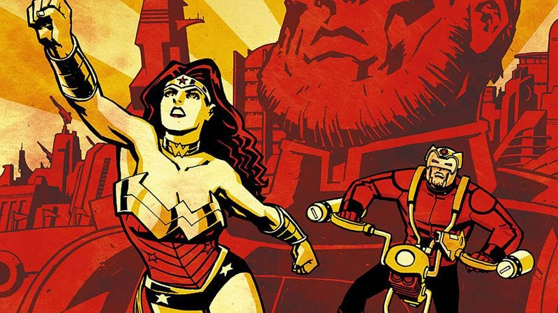 Illustration for article titled Jack Kirby's influence takes Azzarello and Chiang's Wonder Woman to new heights