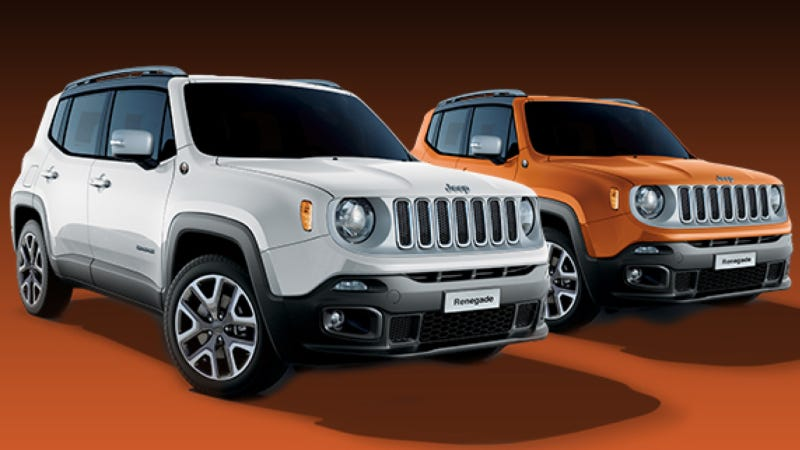 Illustration for article titled 2015 Jeep Renegade To Get Special 'Opening Edition' With... Orange Trim?