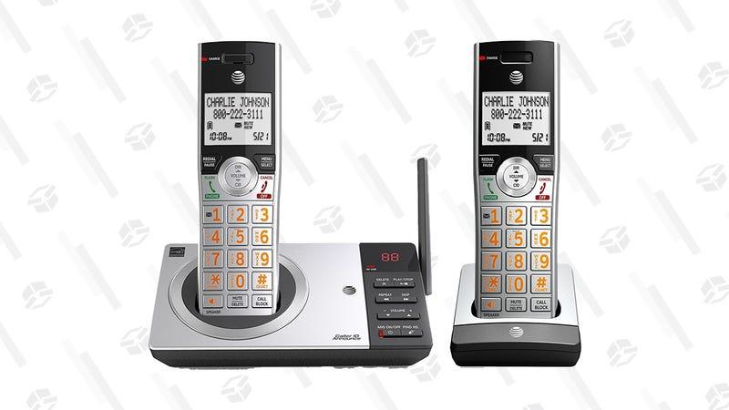 AT&T CL82207 DECT 6.0 Expandable Cordless Phone | $34 | Amazon