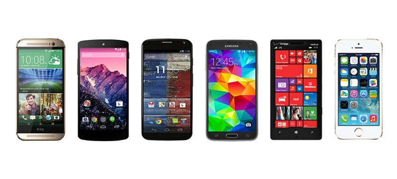 Illustration for article titled How the New HTC One Compares to Its Toughest Competitors