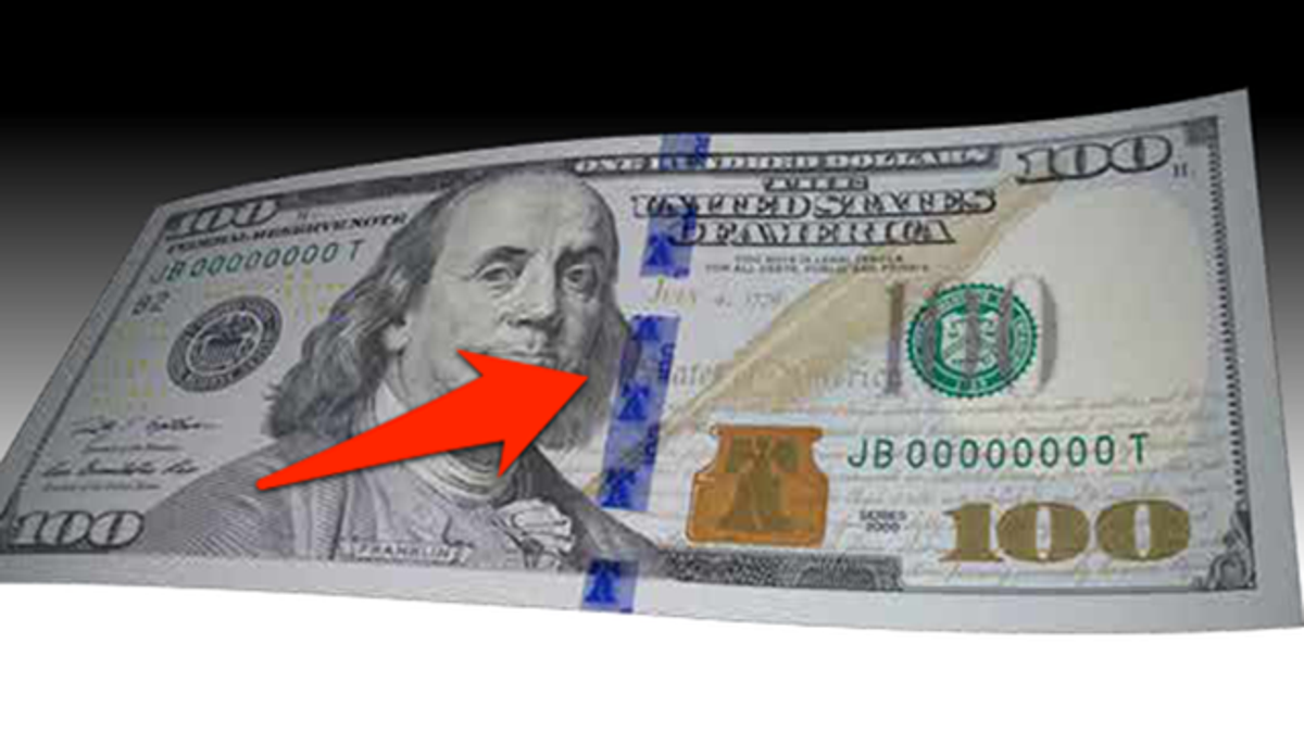 Here's Your New and Improved Hundred Dollar Bill