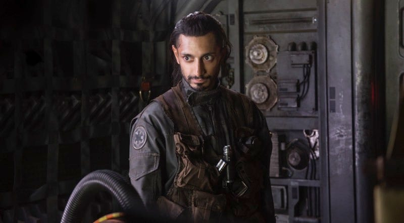 Riz Ahmed as Bodhi Rook in Rogue One: A Star Wars Story. Image: Walt Disney Studios