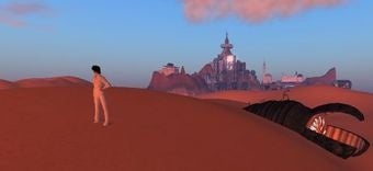 Illustration for article titled Lawyer-Mans of Dune Smack Down Second Life Arrakis