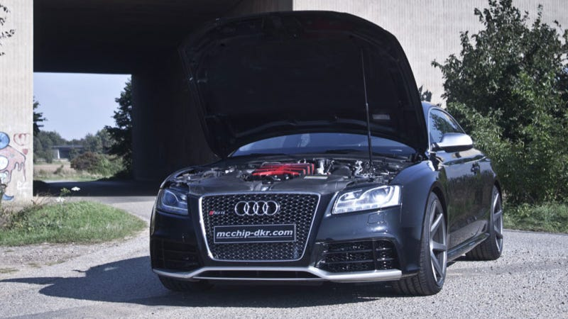 Illustration for article titled Audi RS5 with Compressor Kit 'MC5XX' by MCCHIP DKR