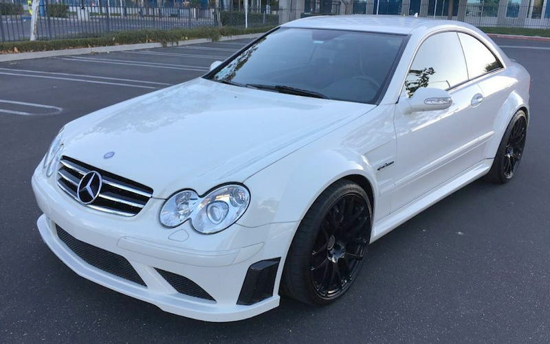 For $51,888, This 2008 Mercedes CLK 63 AMG Could Be Your Ultimate Black Friday Deal