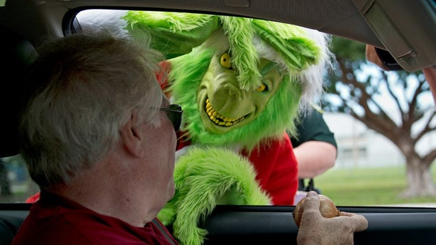 Real-Life Grinch Steals Neighbor Kids' Christmas Toys