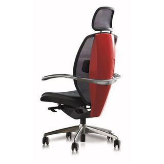 Illustration for article titled Pininfarina Xten Ergonomic Office Chair Makes Sedentary Look Speedy