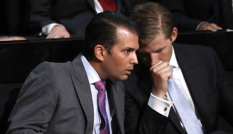 Trump's Sons Offering 'Opening Day' Access to Trump for Pricey Donations