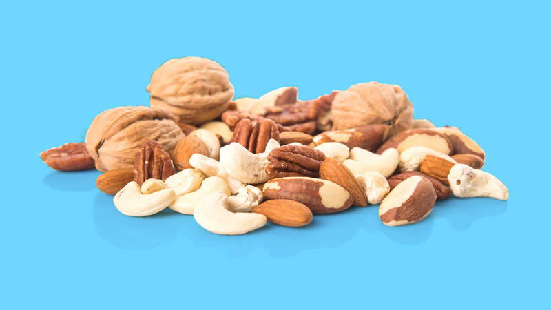 A handful of nuts a day could keep the grim reaper away, according to new research (Image: Shutterstock)