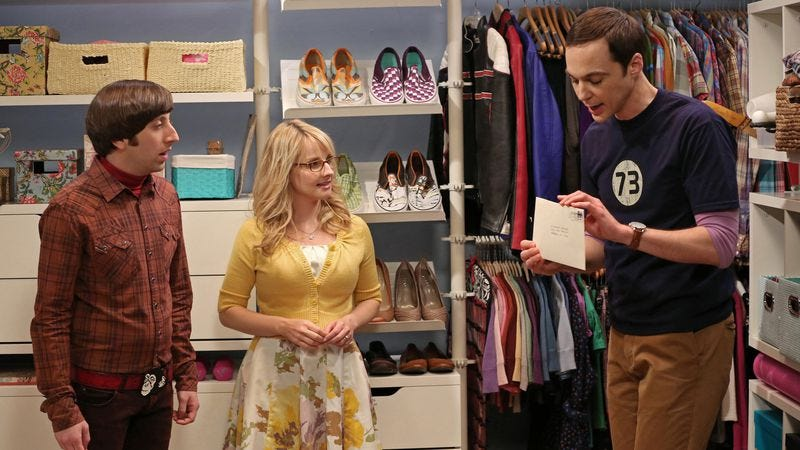 """Illustration for article titled The Big Bang Theory: """"The Closet Reconfiguration"""""""