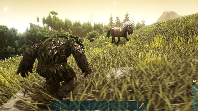 Ark survival evolved horse taming is almost exactly like zeldas in a new update friday ark survival evolved added horses aka the equus to its vast menagerie of tameable creatures the way you tame them is familiar forumfinder Image collections