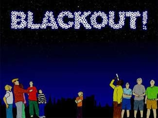 Illustration for article titled Blacked Out Home Game