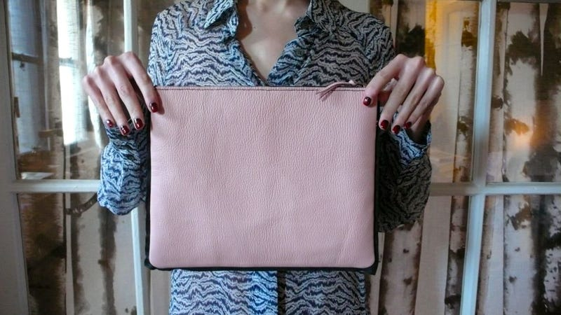 My Last Bag, The Envelope Clutch, Was A Great Opportunity To Explain The  Basics Of Leather ...