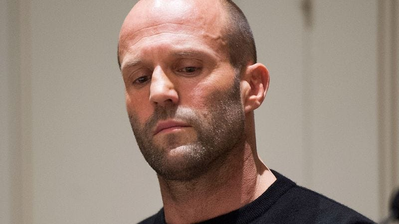 Illustration for article titled Coming Clean: Jason Statham Tearfully Admitted Yesterday That He Did His Own Stunts