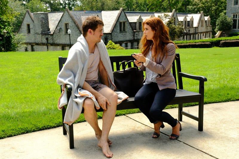 Jason Ritter, Joanna Garcia Swisher (Photo: ABC/Guy D'Alema)