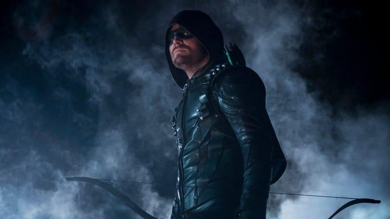 Arrow, one of several superhero shows in Greg Berlanti's portfolio of capes and costumed weirdos