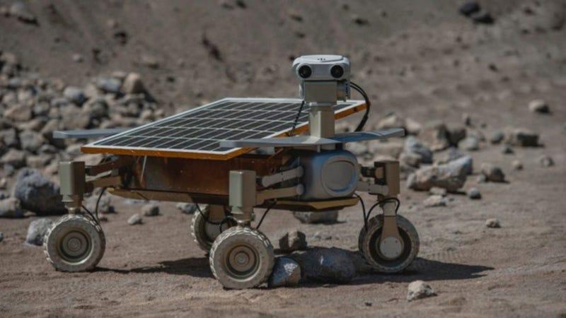 Illustration for article titled Estos robots hechos por estudiantes competirán por aterrizar en la Luna
