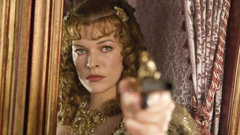 Illustration for article titled Milla Jovovich may star in non-Game Of Thrones George R. R. Martin adaptation