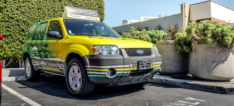 Illustration for article titled This Aviato Ford Escape Is The Only Rental That People In LA Will Give A Shit About