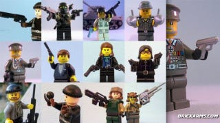 Illustration for article titled LEGO Arms Dealer Sells Everything from AK47 to Uzi