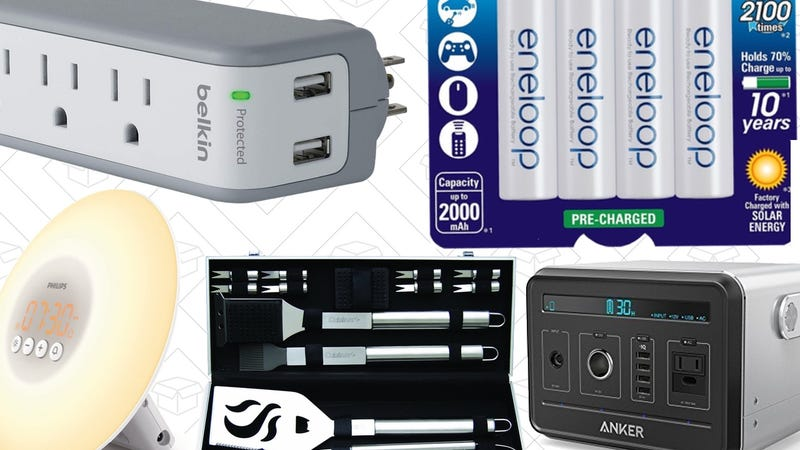 Illustration for article titled Today's Best Deals: Anker PowerHouse, Surge Protectors, Wake-Up Light, and More